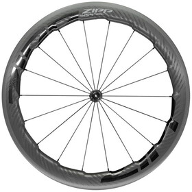 "Zipp 454 NSW Roue Avant 28"" 100mm Carbon Clincher Tubeless QR, black"